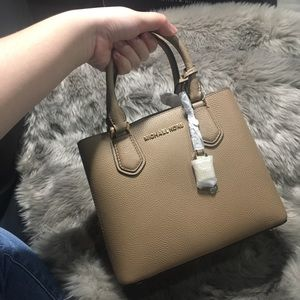 New MK Adele leather bag